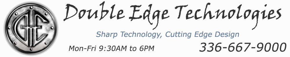 Double Edge Technologies Logo